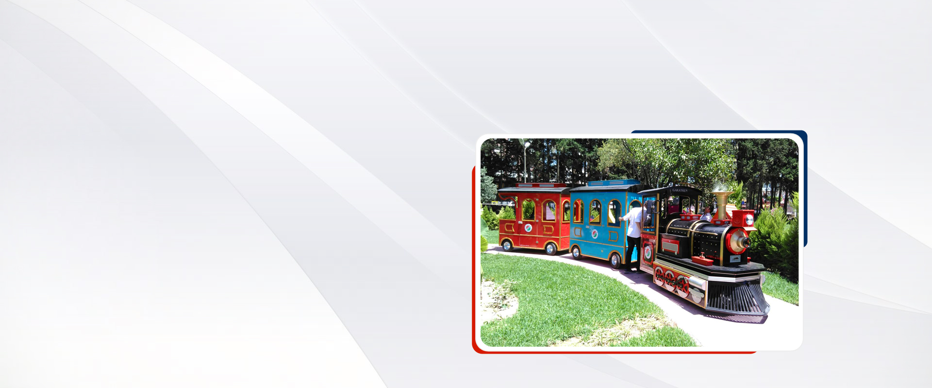 home maxi trackless train